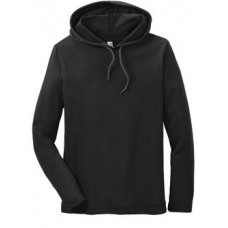 Anvil® 100% Ring Spun Cotton Long Sleeve Hooded T-Shirt
