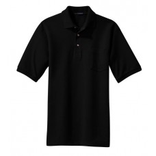 Port Authority® - Pique Knit Polo with Pocket