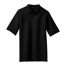 Port Authority® - Silk Touch™ Polo with Pocket