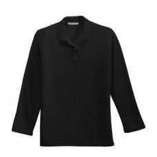 Port Authority® - Ladies Long Sleeve Silk Touch™ Sport Shirt