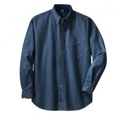 Port & Company® - Long Sleeve Value Denim Shirt